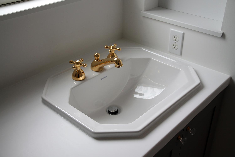 洗面台のリノベーション